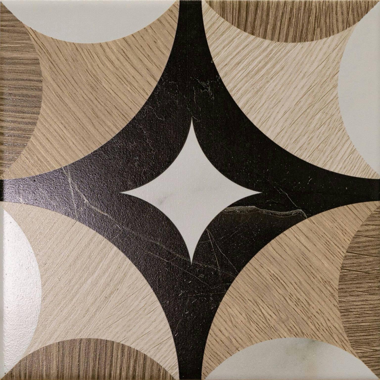 Lounge Round Multi 18,6x18,6 | Newker