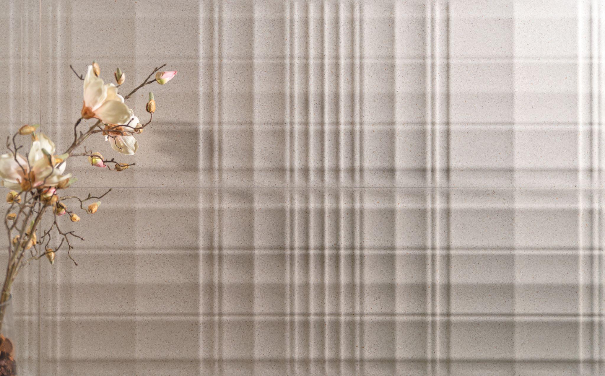 Battuto Stripe White 40x120 | Newker
