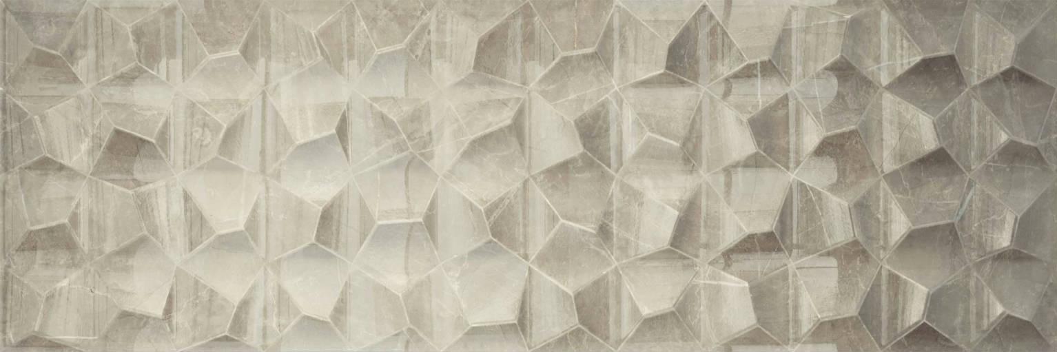Breccia Decor Cream 29,5x90 | Newker