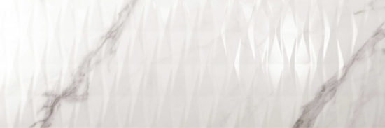 Calacatta Wall Gloss White 40x120 | Newker