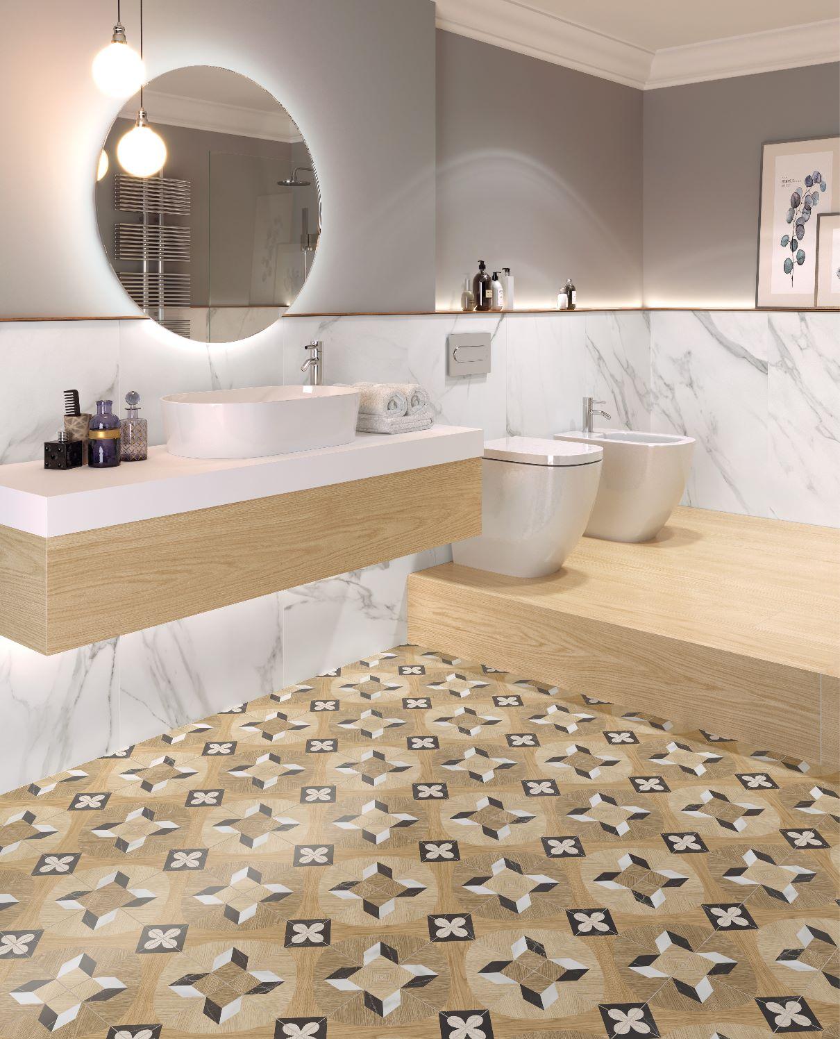 Lounge Prisma Multi 18,6x18,6 | Newker
